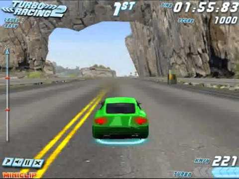 Capa - Jogo de corrida - Turbo Racing 2