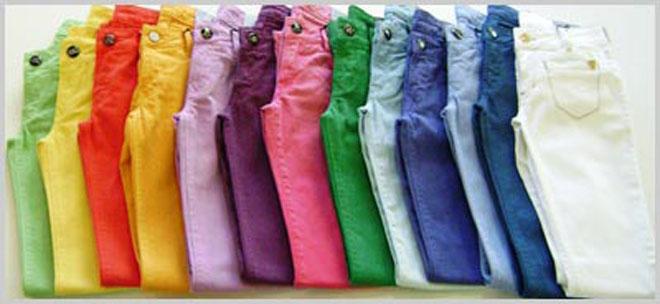 Capa - Jeans colorido! ( Look da menina )