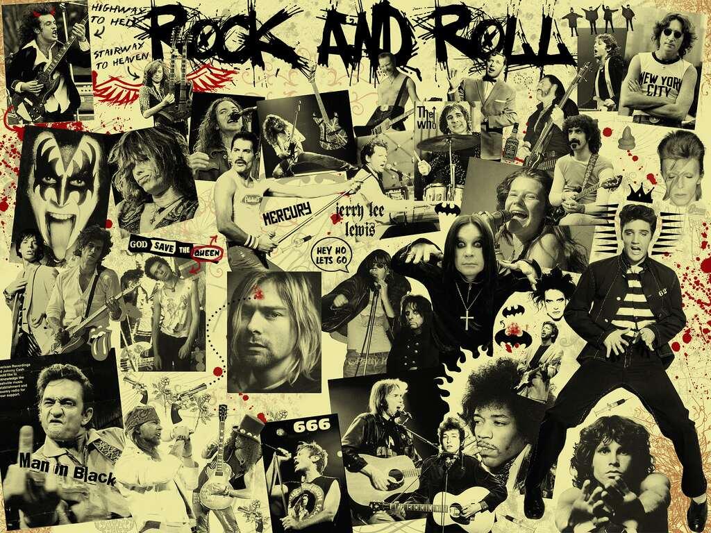 Capa - Um Resumo da História do Rock