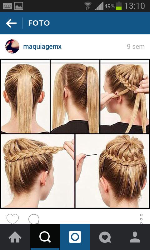 Capa - #Penteados 💇